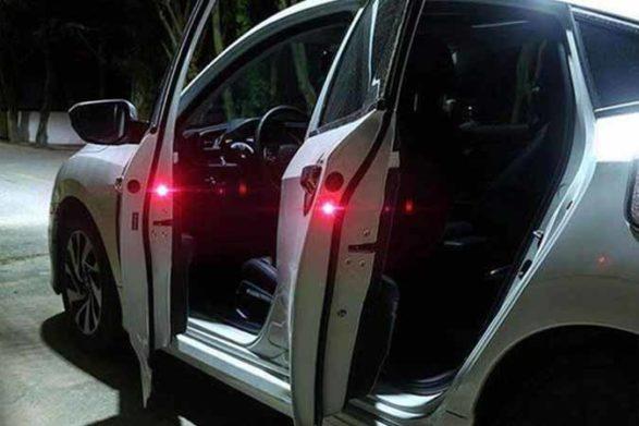 a car door warning light