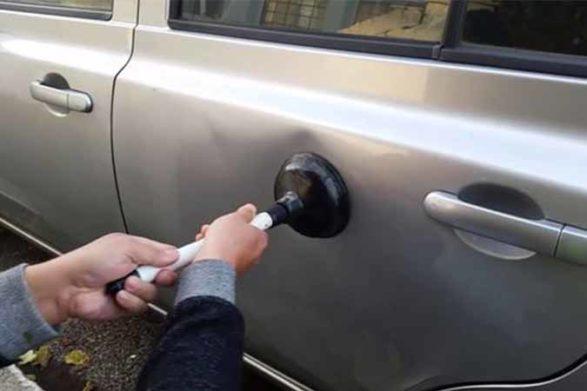 a car door dent fixer