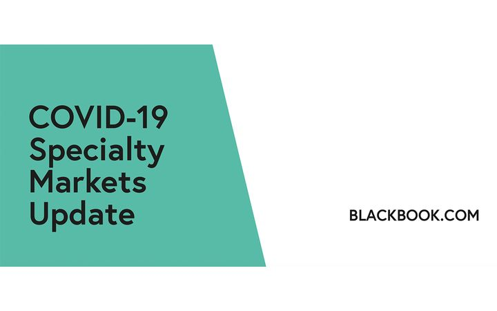Black Book recently published an update to their COVID-19 Specialty Markets Updates. - IMAGE: Black Book