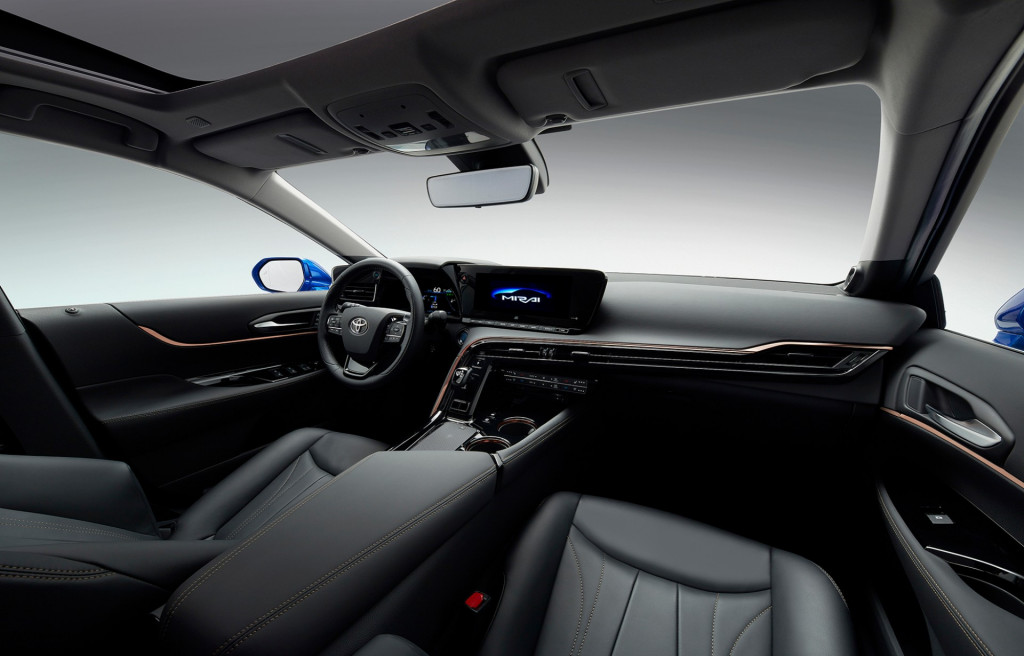 2021 Toyota Mirai concept
