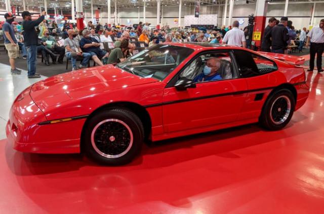 Last 1988 Pontiac Fiero GT produced