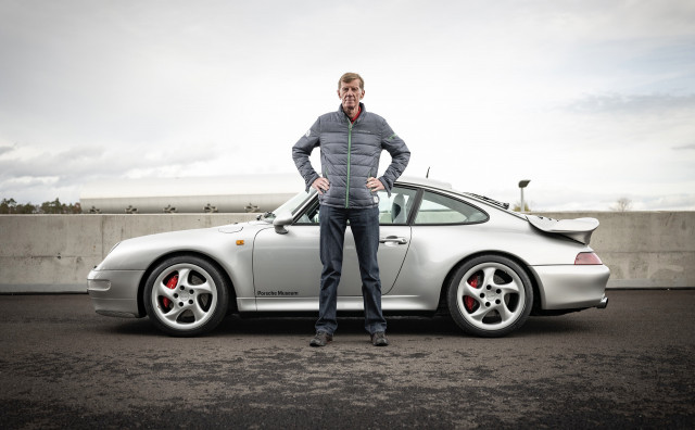 Walter Röhrl and the 993-generation Porsche 911 Turbo