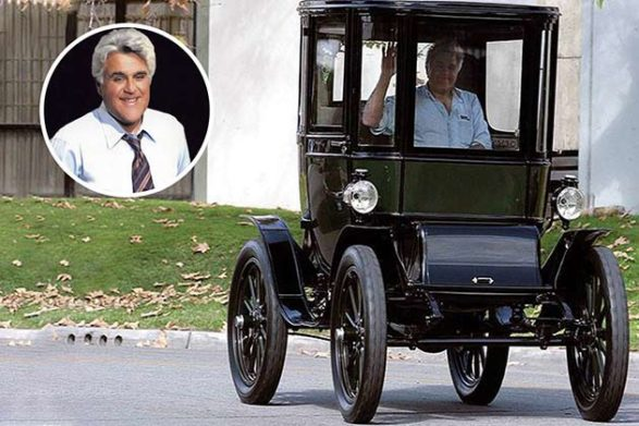 jay leno and his ford model t