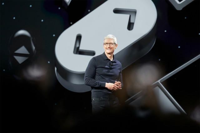 Apple CEO Tim Cook at WWDC