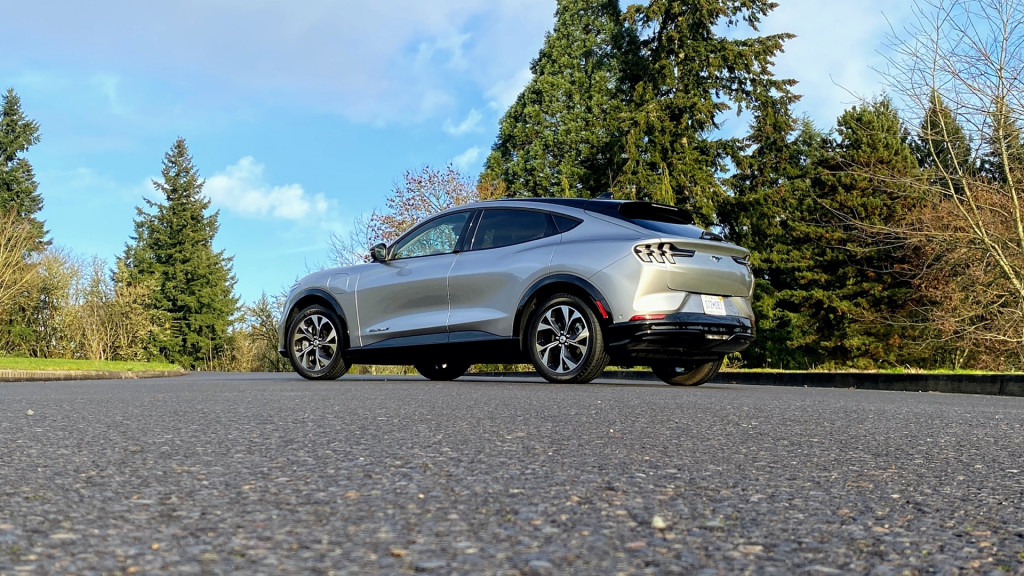 2021 Ford Mustang Mach-E first drive - Portland, OR