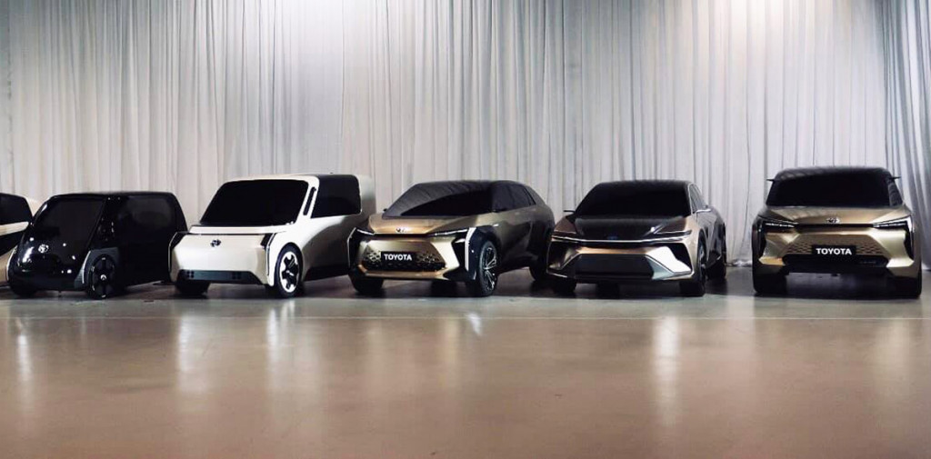 Concepts preview battery-electric cars being developed at Toyota