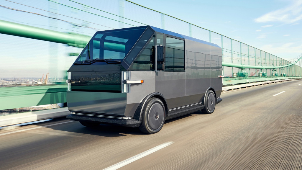 Canoo MPDV electric van