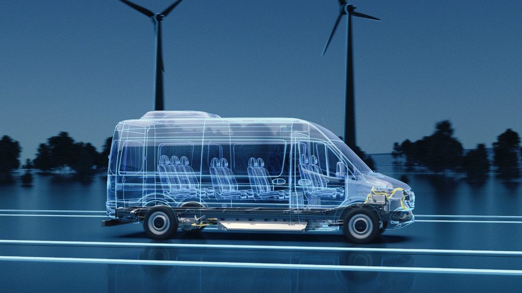 Next-generation Mercedes-Benz eSprinter