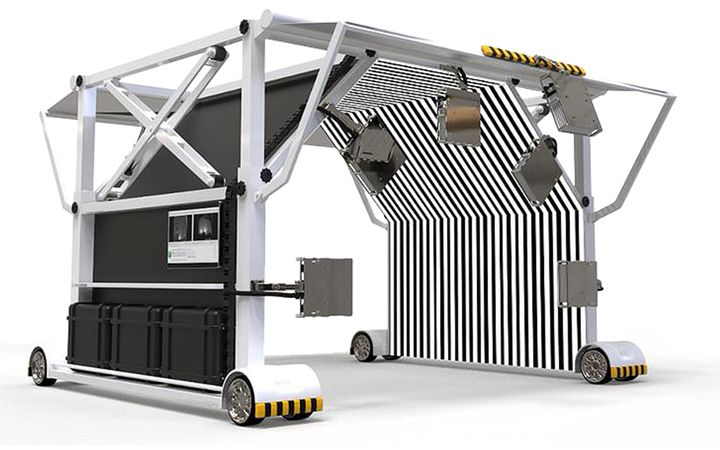Expands technology portfolio with Vehicle Hail Scan System acquisition. - IMAGE: ChiefTechnology.com