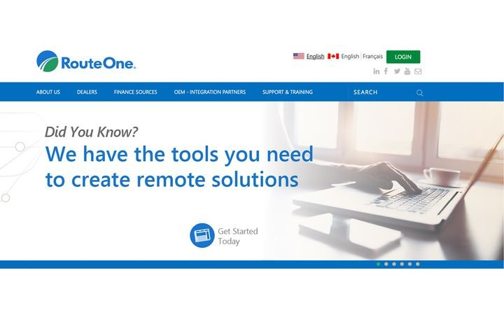 Deal Forms provides RouteOne's 11,000+ active eContracting dealers the ability to access an expanded digital library of universal deal forms including odometer statement, agreement to provide insurance, and title application. - IMAGE: RouteOne.com