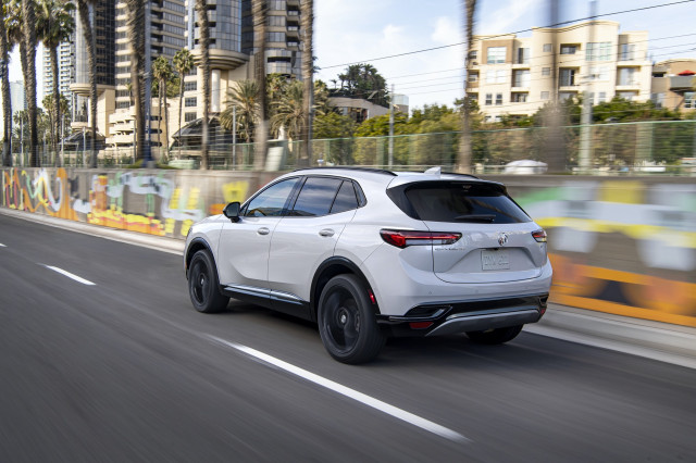 2021 Buick Envision with Sport Touring package