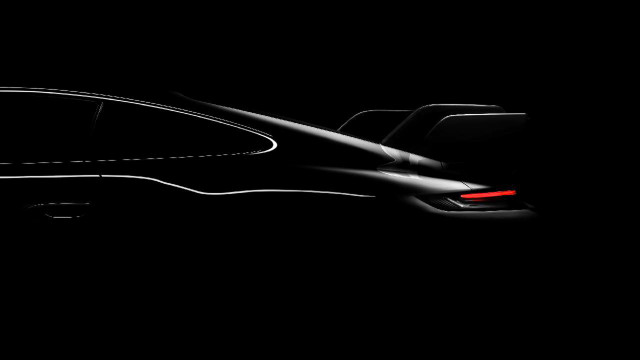 Teaser for 992-generation Porsche 911 GT3 debuting on February 16, 2021