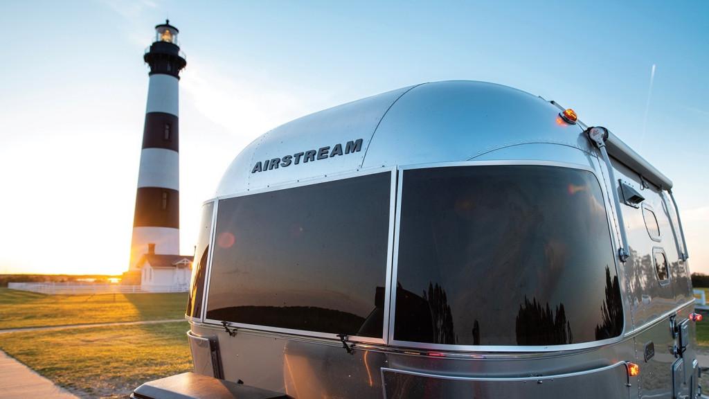 Airstream Caravel trailer