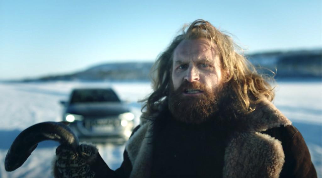 Audi ad - Kristoffer Hivju asserting Norway's EV supremacy