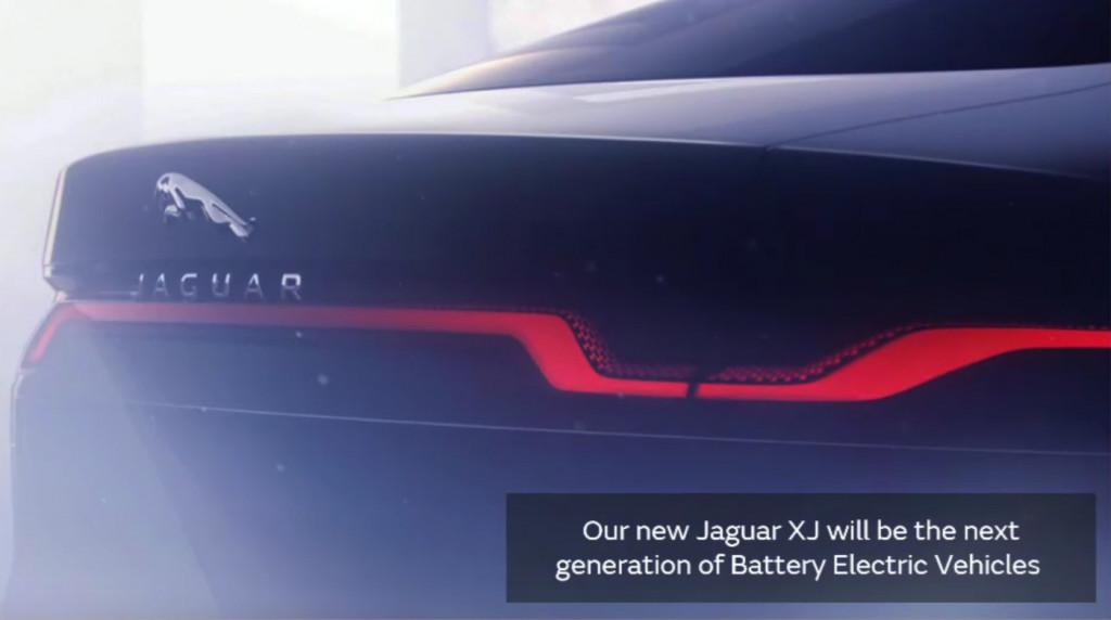 Jaguar XJ teaser photo