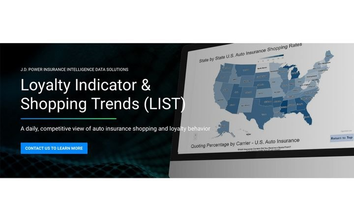 Auto insurance loyalty indicator and shopping trends solution delivers daily view of shopping behaviors. - IMAGE: JDPower.com