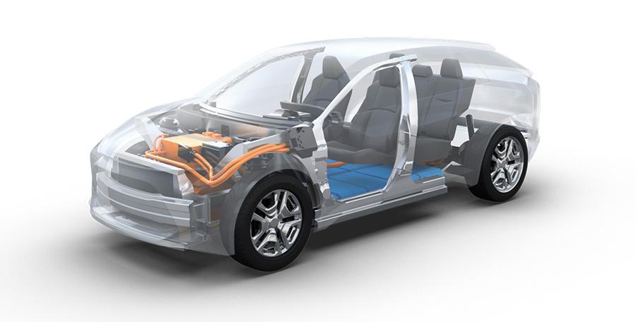 Toyota-Subaru electric vehicle platform