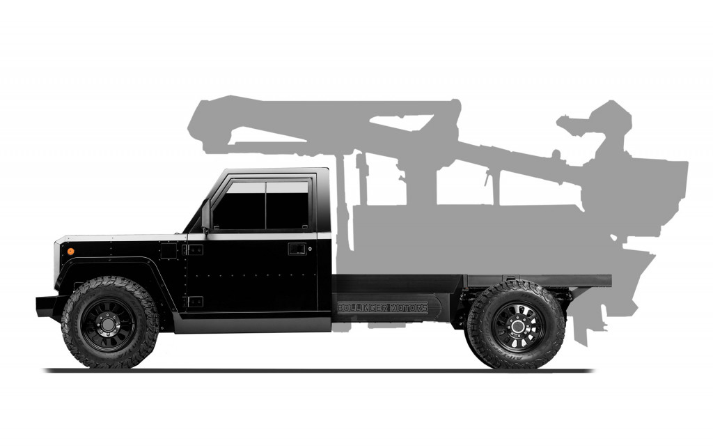 Bollinger B2 chassis cab