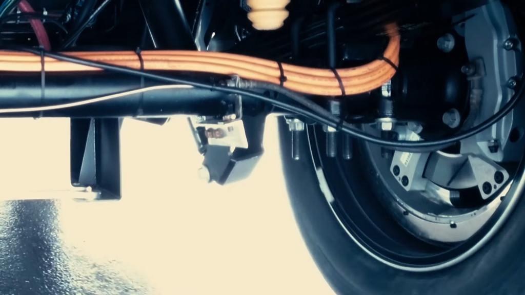 Lordstown Endurance wheel hub motor