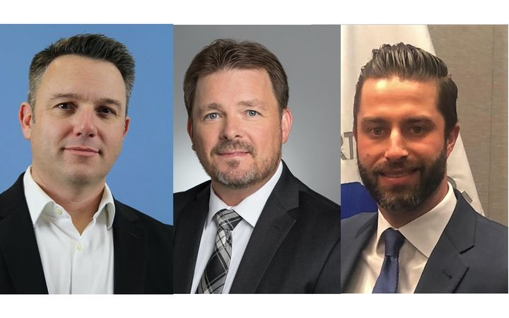 New VPs Laurence Dixon, Brett Scott and James Gibson bring experience and insight to association. - IMAGE: NIADA