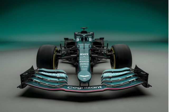2021 Aston Martin AMR21 Formula One race car