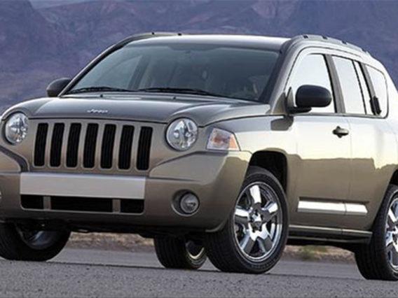 a brownish slate gray jeep compass