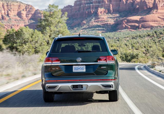 2021 Volkswagen Atlas with Basecamp package