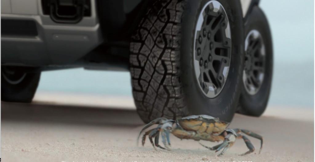GMC Hummer EV Crab Mode