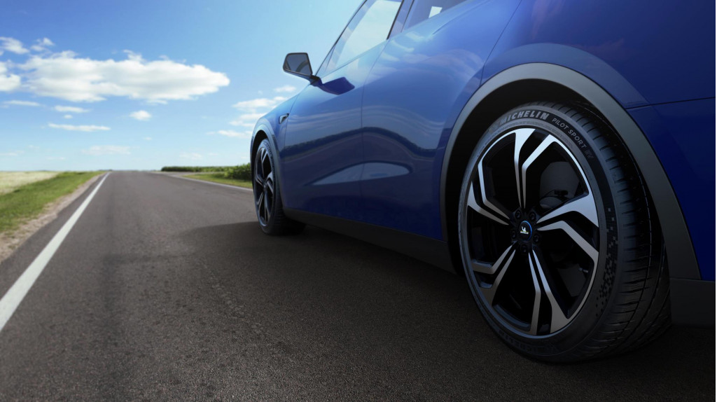 Michelin Pilot Sport EV tire for electric cars