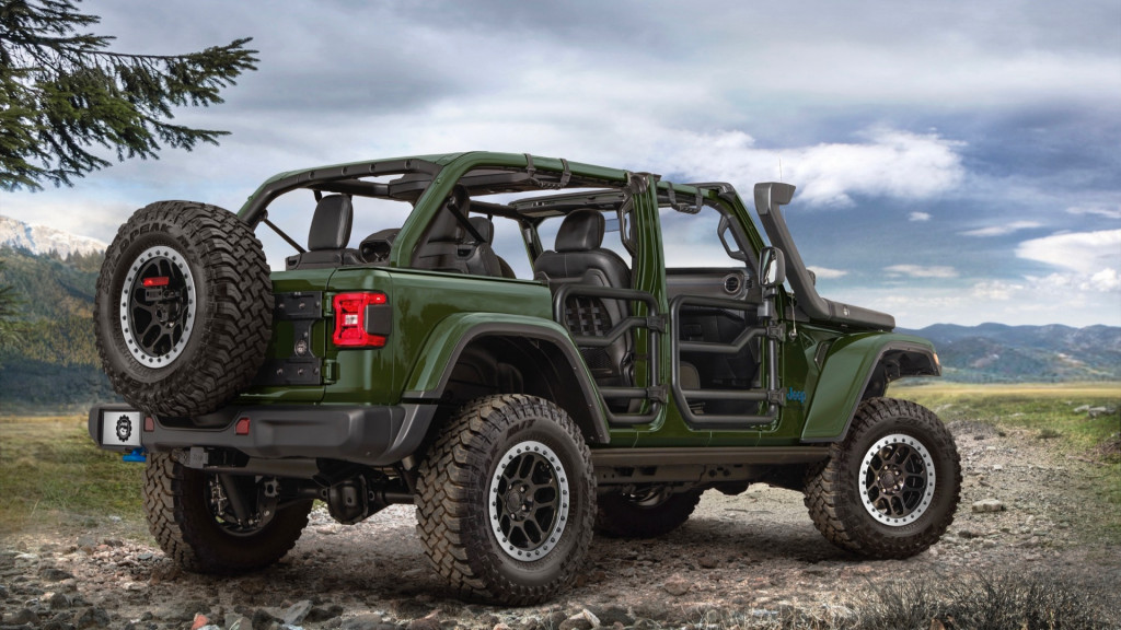 Jeep Performance Parts for 2021 Jeep Wrangler 4xe