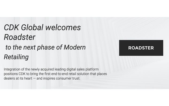 Digital sales platform integration to equip dealers with Amazon-like experience for new and used vehicles. - IMAGE: CDKGlobal.com