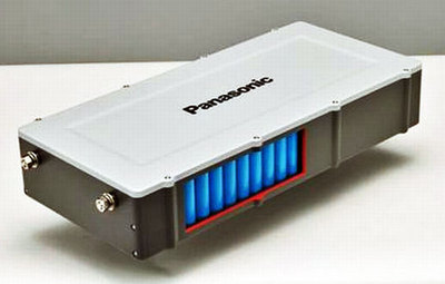 Panasonic Li-Ion EV battery