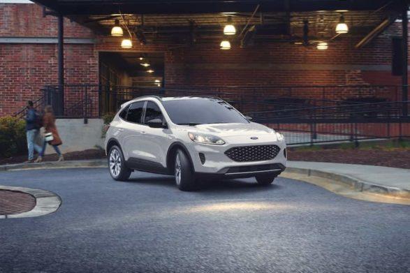 a white 2020 ford escape