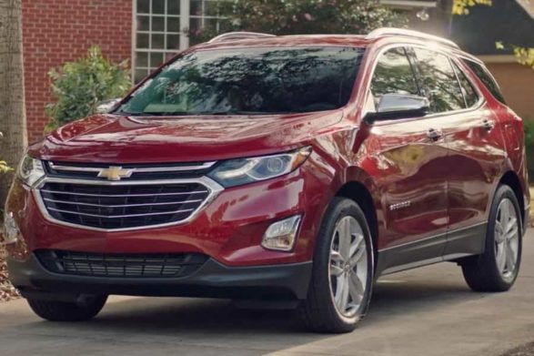 a red 2019 chevrolet equinox