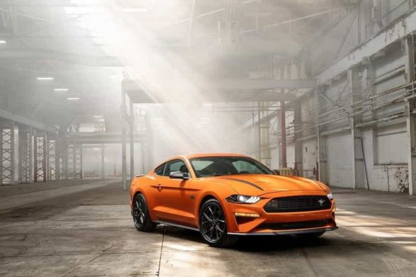 a 2019 ford mustang