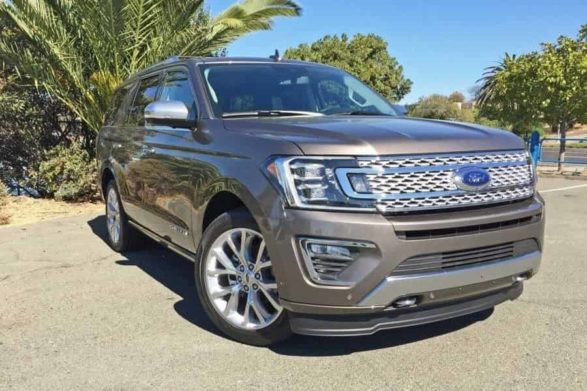 a silvery brown ford expedition