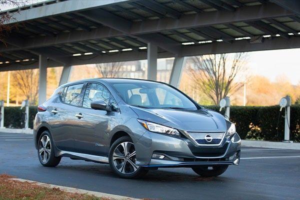 2021 Nissan Leaf ext