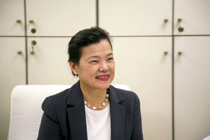 Economy Minister Wang Mei-hua sends assurances that they are hard at work to produce more chips. - Wikipedia