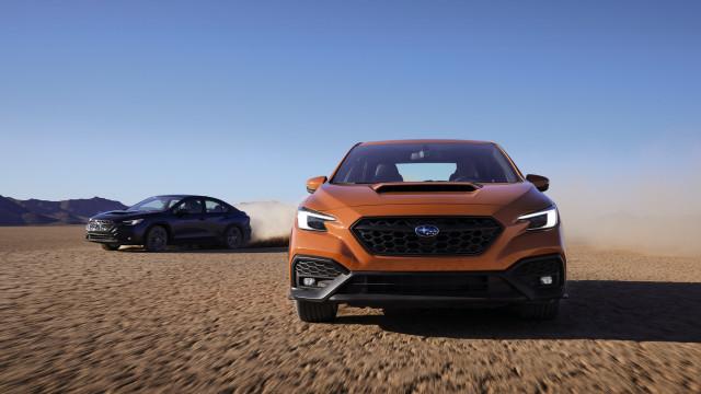 2022 Subaru WRX and WRX GT