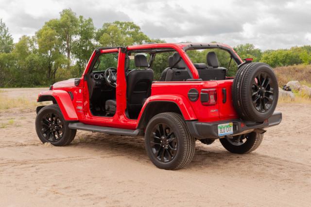 2021 Jeep Wrangler Unlimited Sahara 4xe