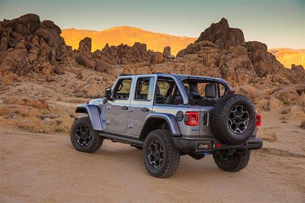 2021 Jeep Wrangler ext