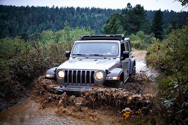 2021 Jeep Wrangler mud