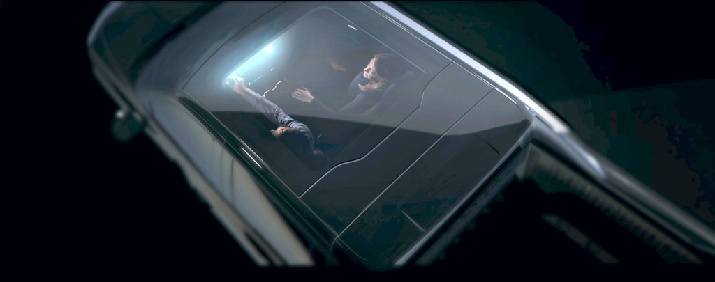 Chevrolet Silverado EV glass roof teaser